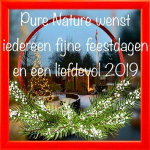 Pure Nature wenst iedereen fijne feestdagen en een liefdevol 2019